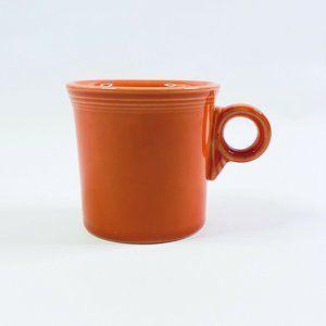 Fiestaware Persimmon Ring Handled Coffee Mug